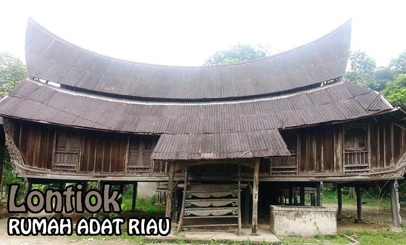 Rumah Adat Riau Deweezz